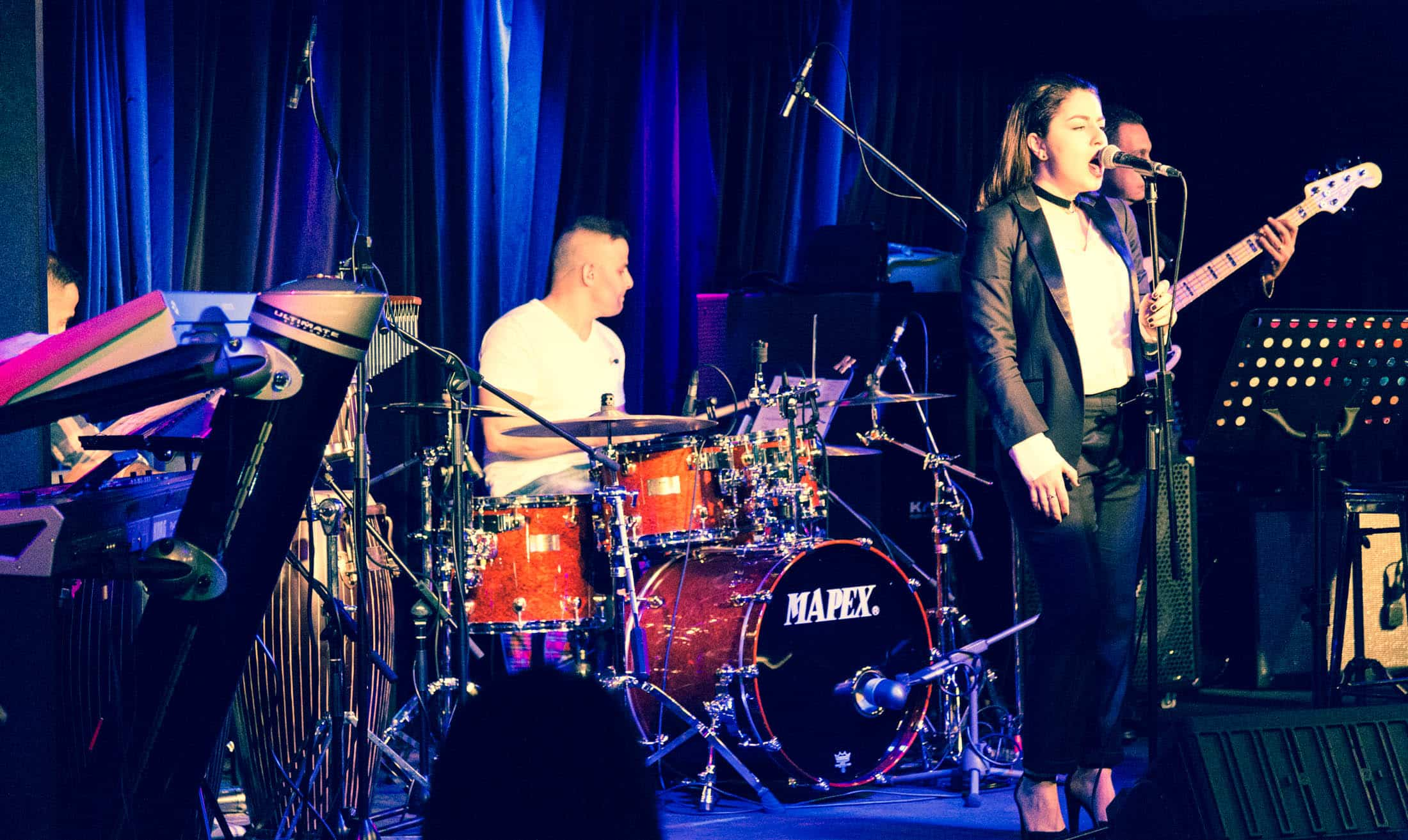 Masha Mnjoyan and Band At The Basement Sydney
