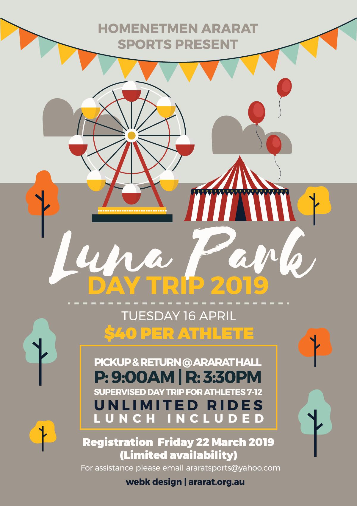 Ararat-Sports-Luna-Park-Trip-2019